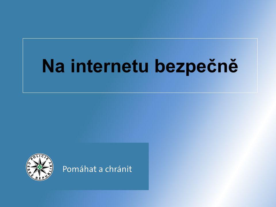 Na internetu bezpečně