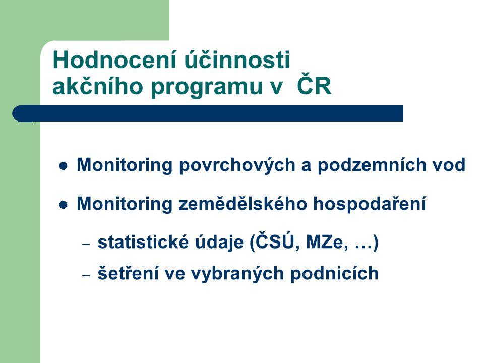 Hodnocení účinnosti akčního programu v ČR