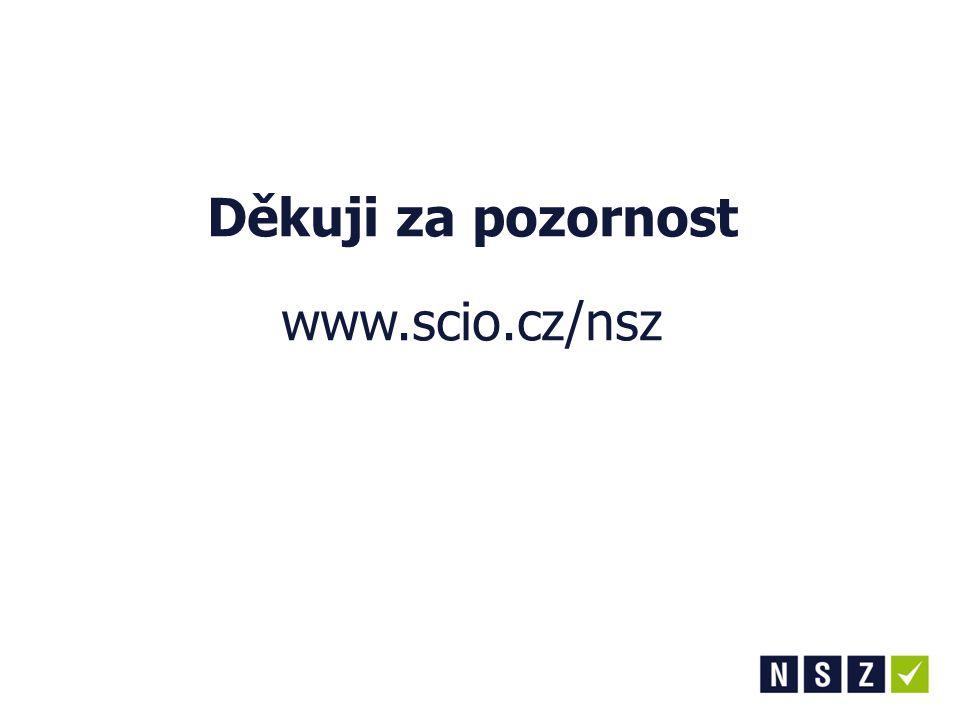 Děkuji za pozornost www.scio.cz/nsz
