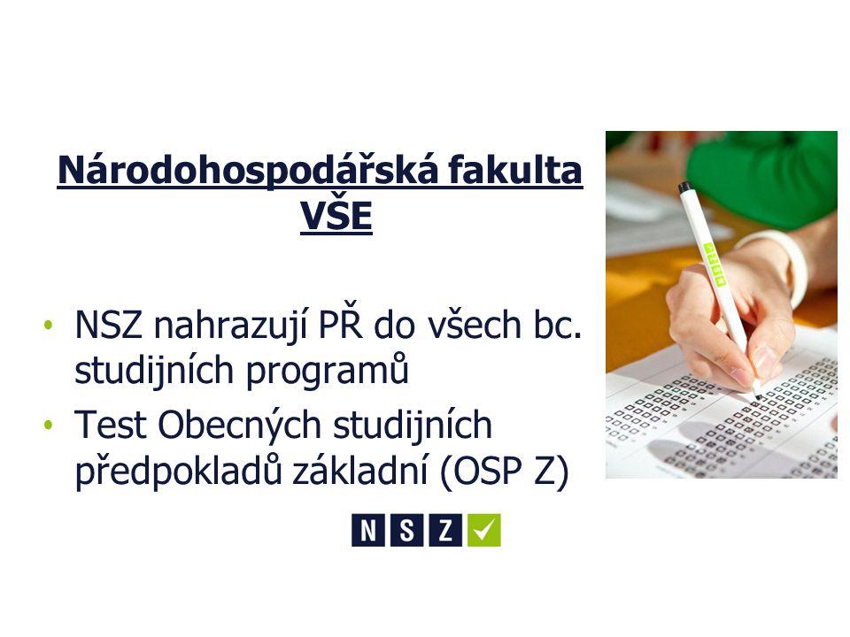Národní srovnávací zkoušky (NSZ)