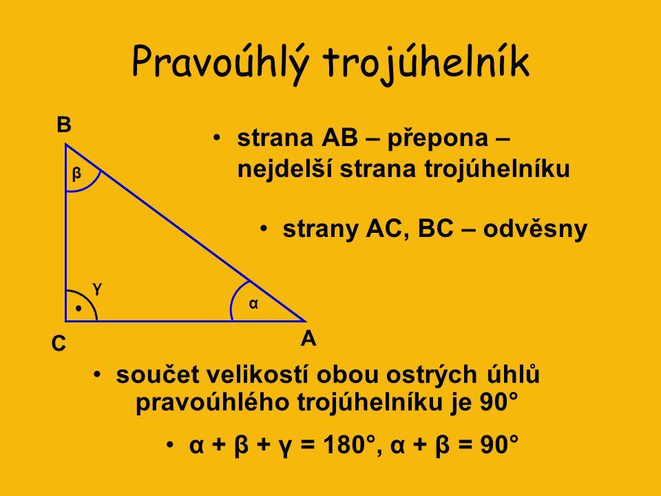 Pravoúhlý trojúhelník