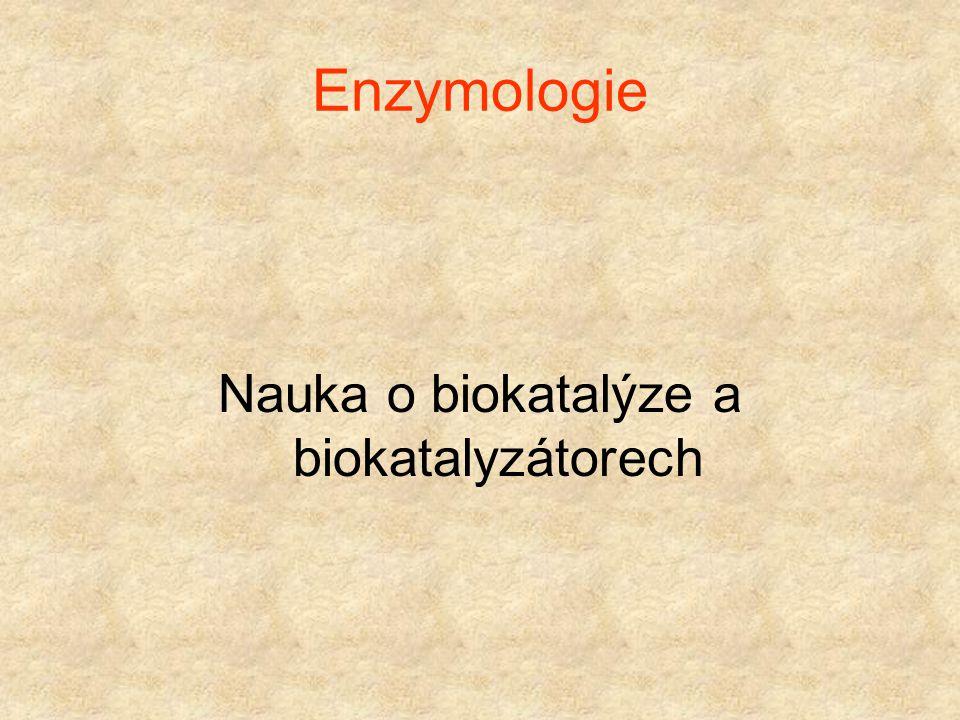 Nauka o biokatalýze a biokatalyzátorech