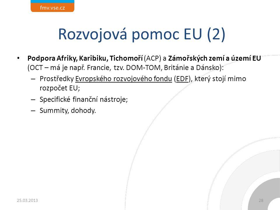 Rozvojová pomoc EU (2)