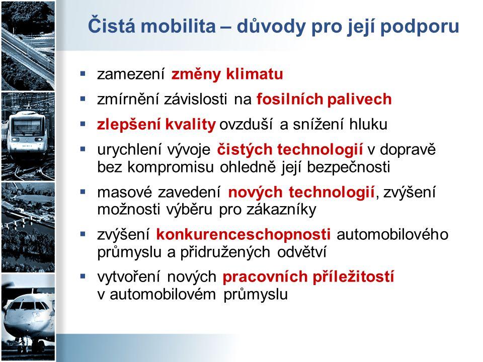 Čistá mobilita – důvody pro její podporu