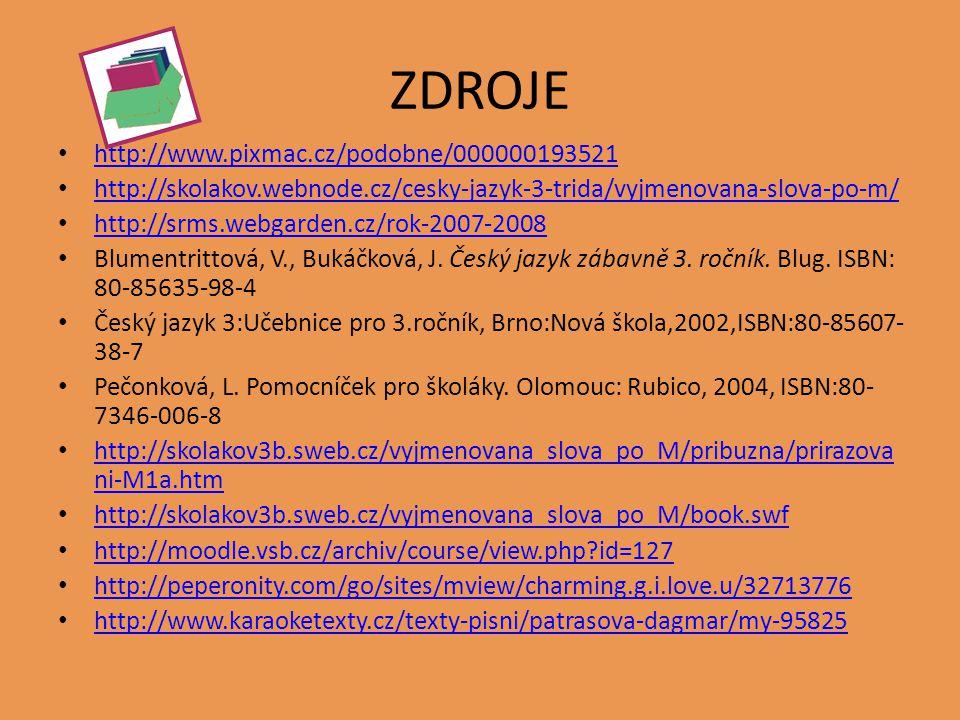 ZDROJE http://www.pixmac.cz/podobne/000000193521