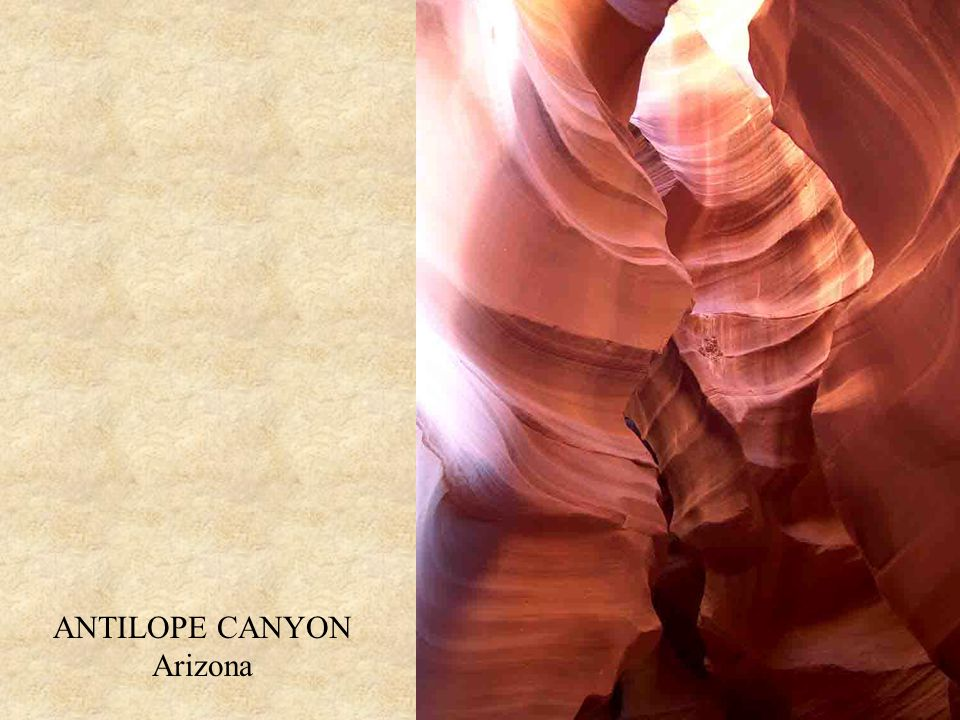 ANTILOPE CANYON Arizona