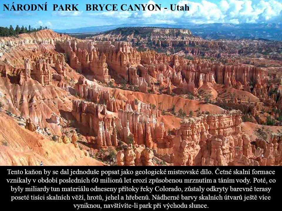 NÁRODNÍ PARK BRYCE CANYON - Utah