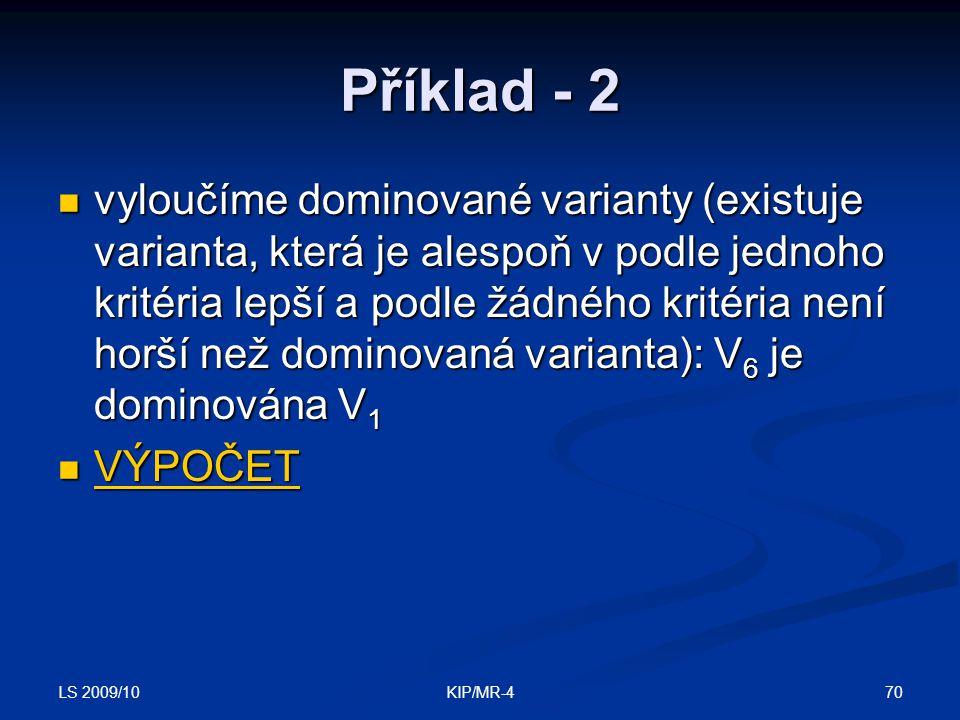 Příklad - 2