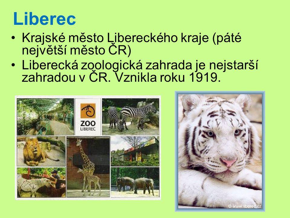 Liberec Krajské město Libereckého kraje (páté největší město ČR)
