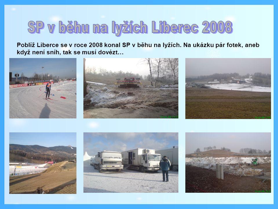 SP v běhu na lyžích Liberec 2008