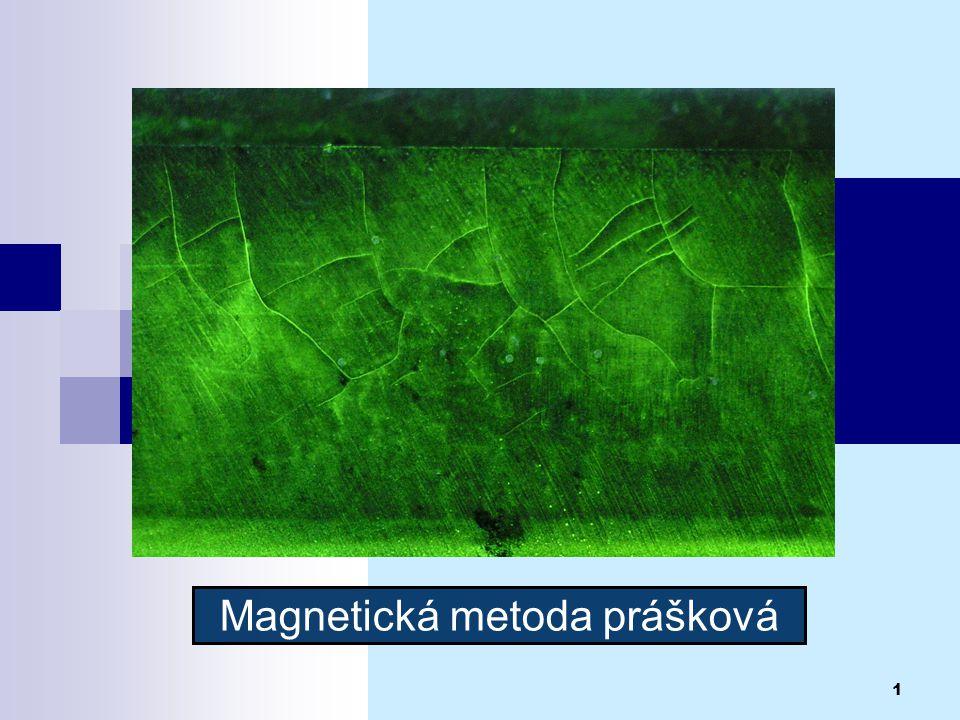 Magnetická metoda prášková