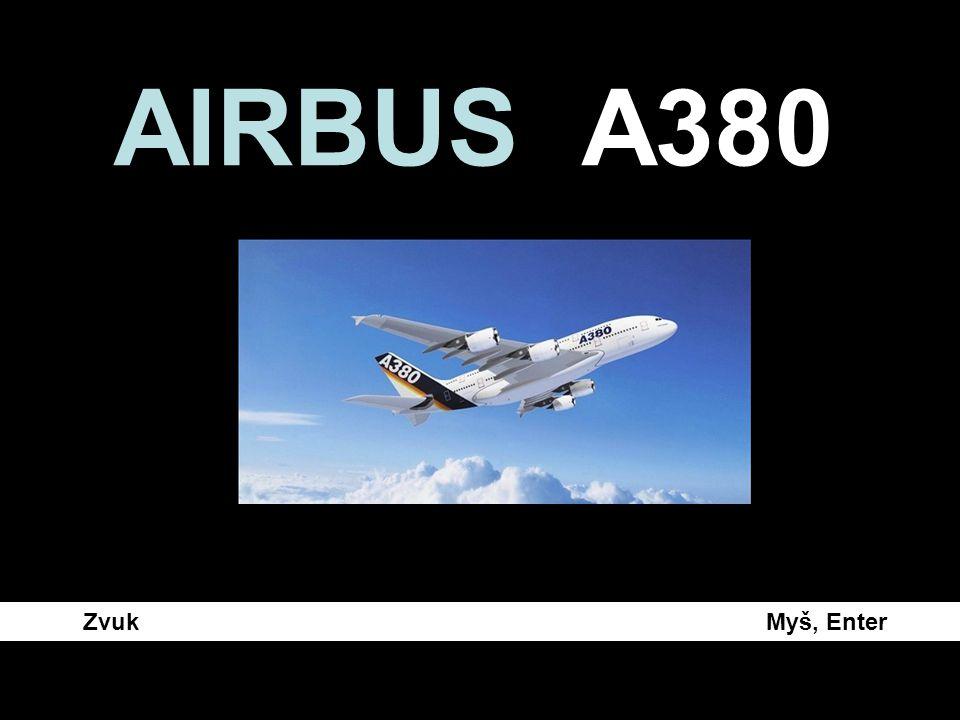 AIRBUS A380 Zvuk Myš, Enter.