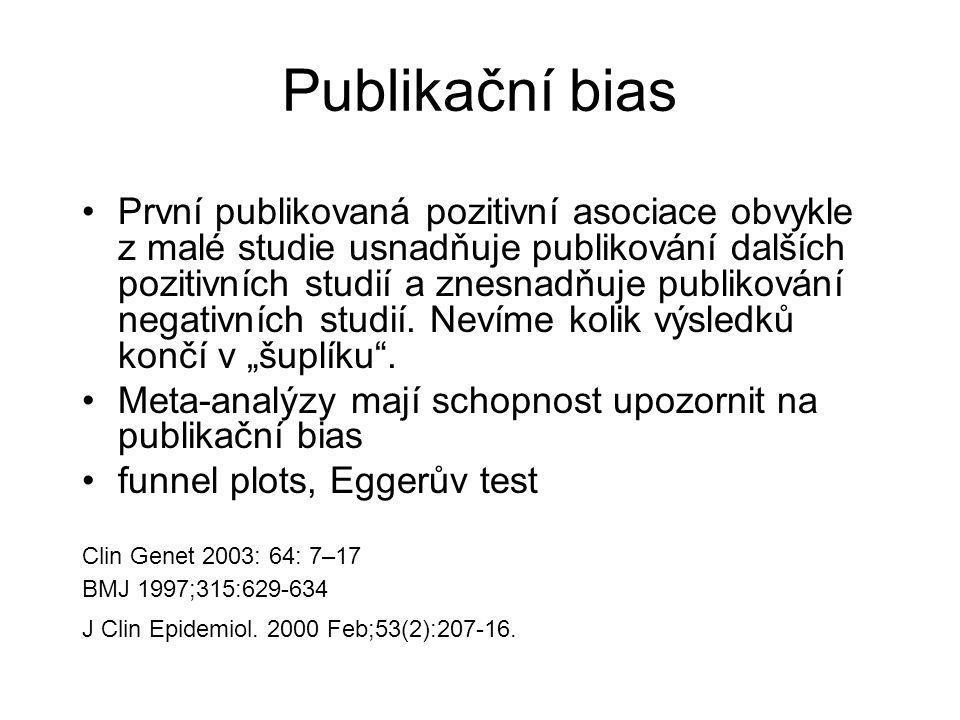 Publikační bias
