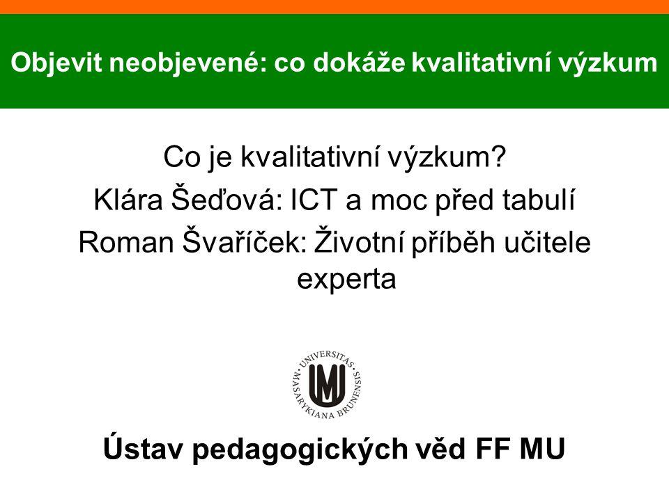 Ústav pedagogických věd FF MU