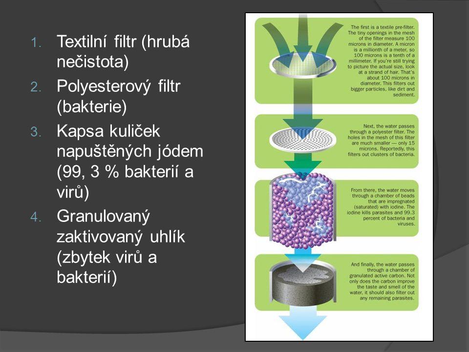 Textilní filtr (hrubá nečistota)