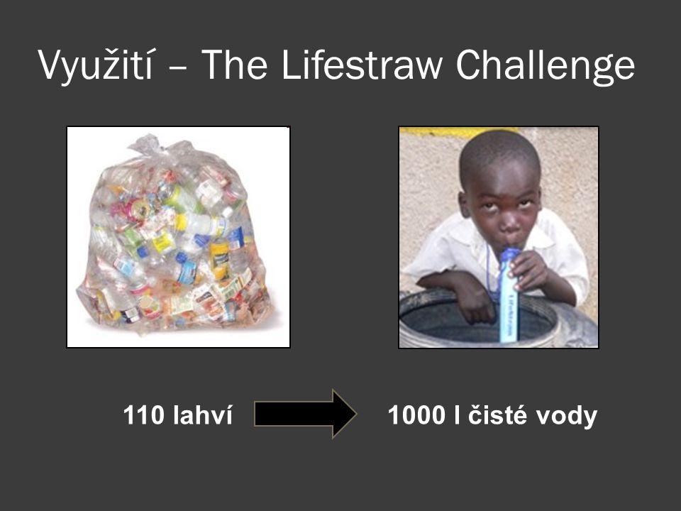 Využití – The Lifestraw Challenge