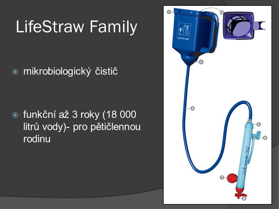 LifeStraw Family mikrobiologický čistič