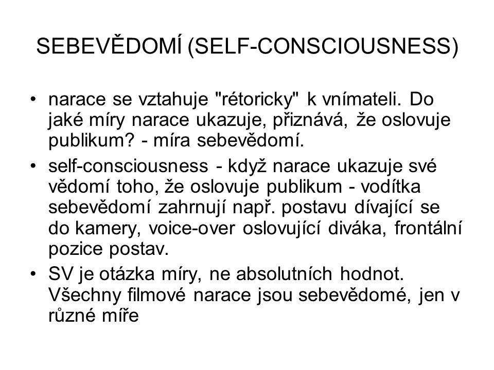SEBEVĚDOMÍ (SELF-CONSCIOUSNESS)