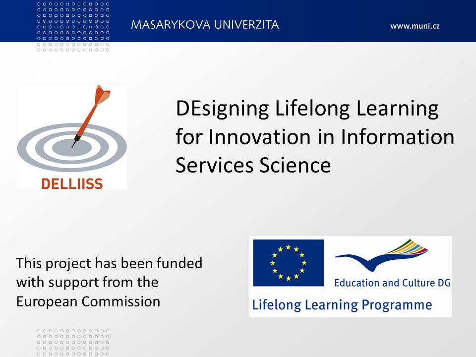 DEsigning Lifelong Learning for Innovation in Information Services Science