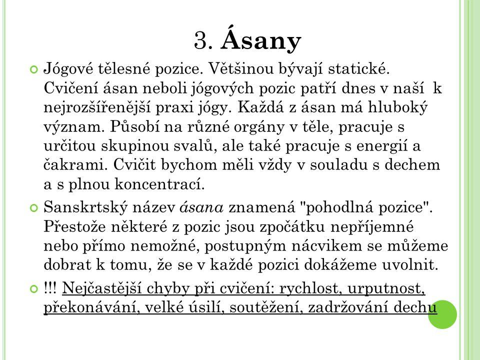 3. Ásany