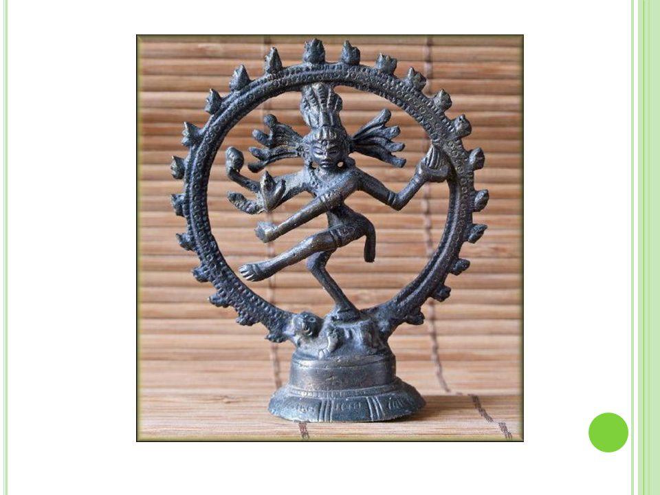 Bůh Šiva – ničitel, divoký tanečník
