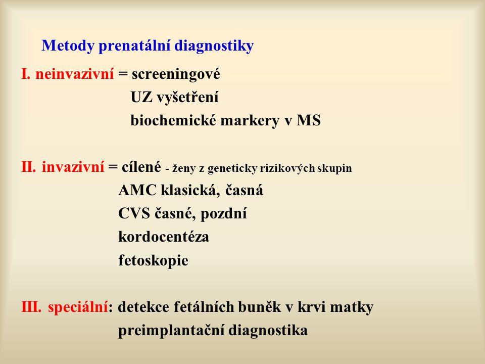 Metody prenatální diagnostiky
