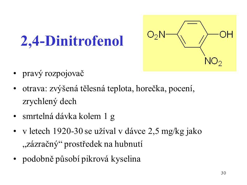 2,4-Dinitrofenol pravý rozpojovač