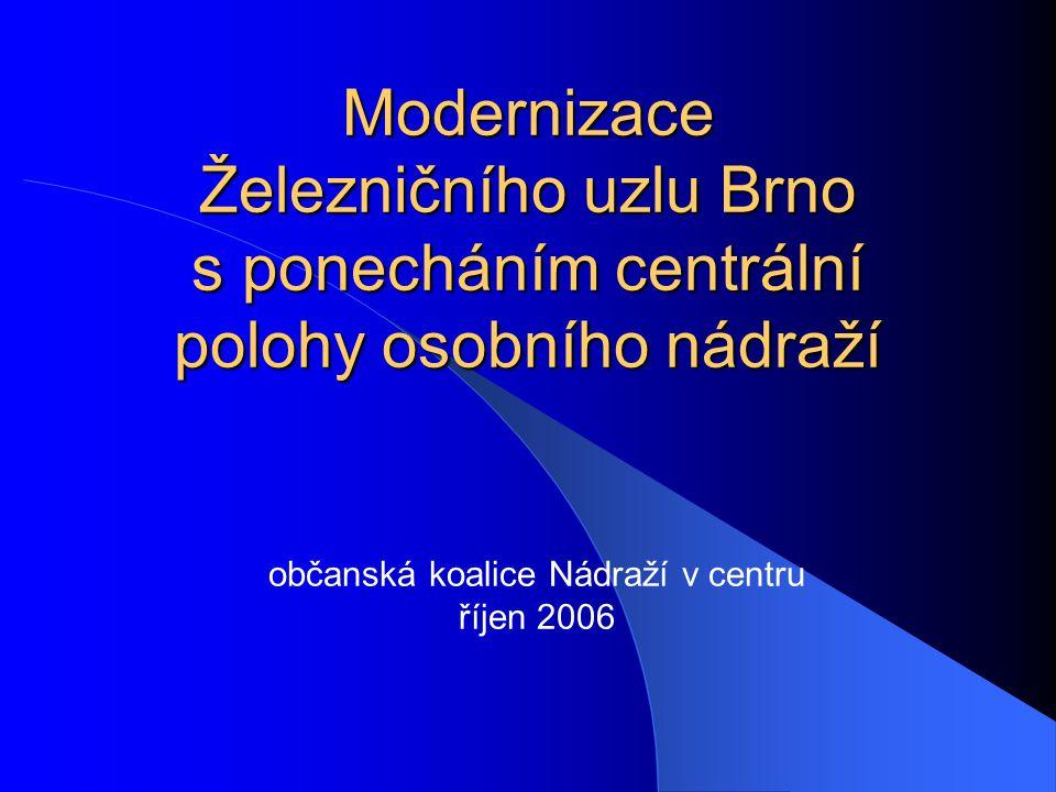 občanská koalice Nádraží v centru říjen 2006