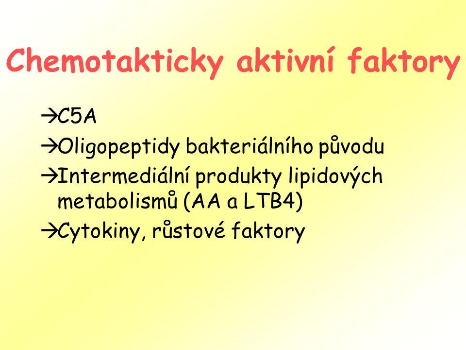 Chemotakticky aktivní faktory