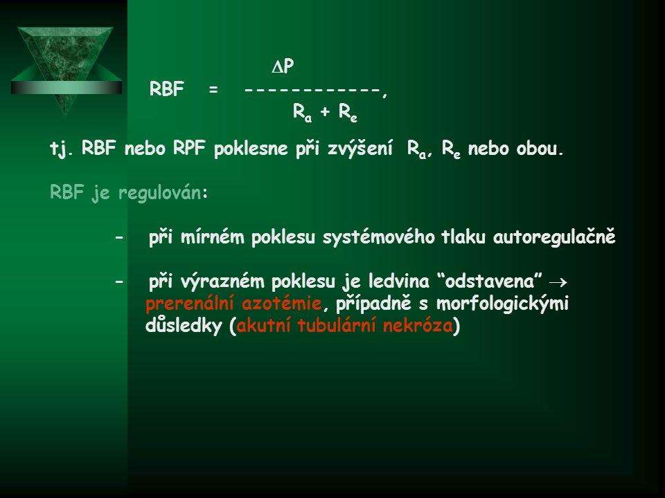 P RBF = ------------, Ra + Re