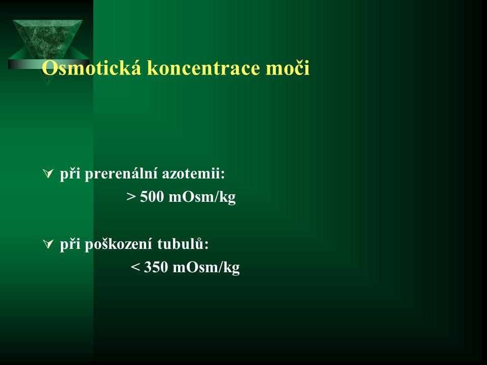 Osmotická koncentrace moči