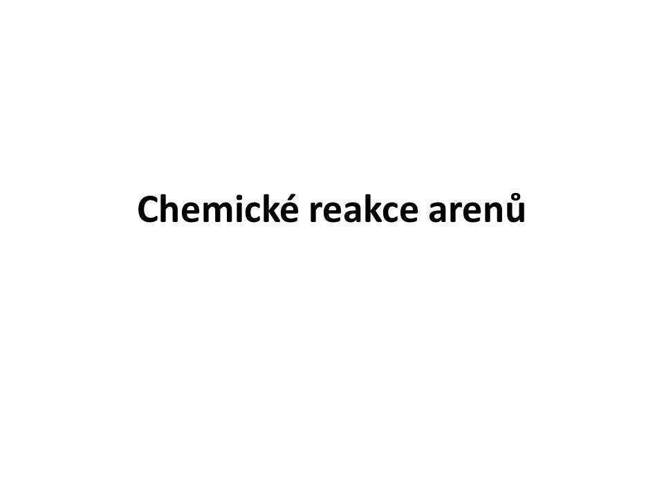 Chemické reakce arenů