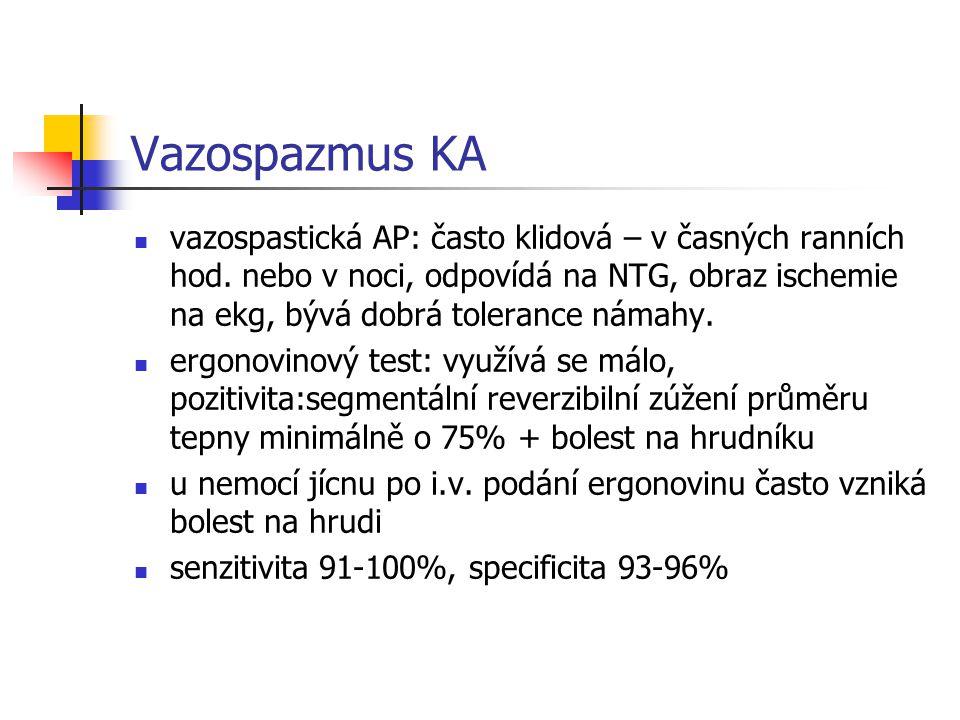Vazospazmus KA