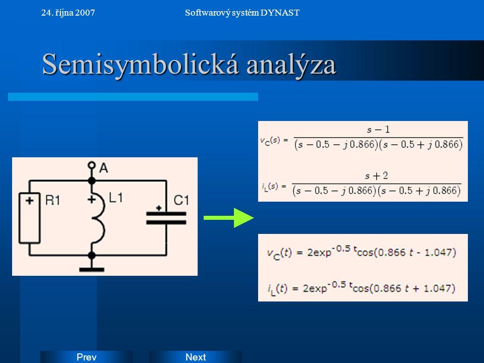 Semisymbolická analýza
