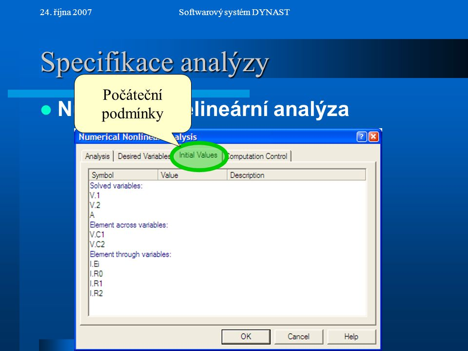 Softwarový systém DYNAST
