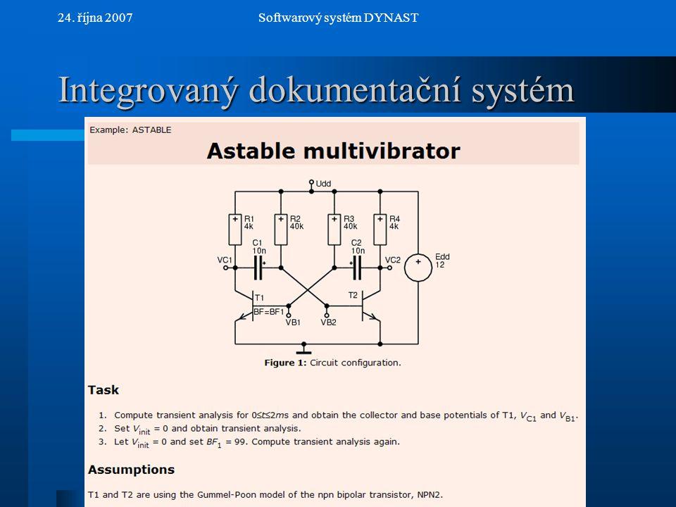 Integrovaný dokumentační systém