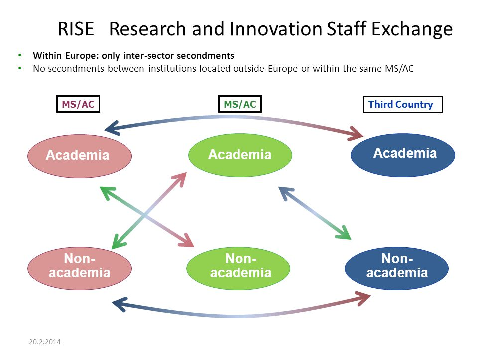 RISE Research and Innovation Staff Exchange