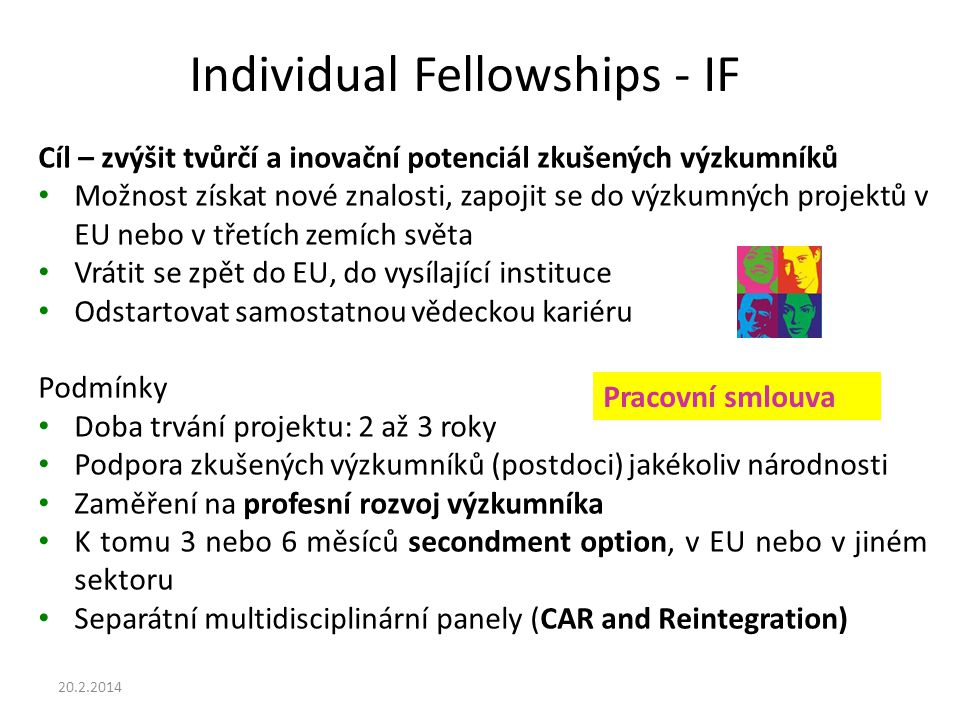 Individual Fellowships - IF