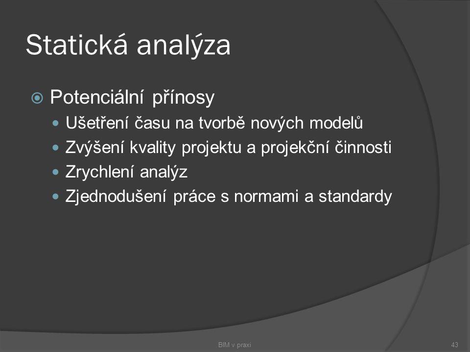 Statická analýza Potenciální přínosy