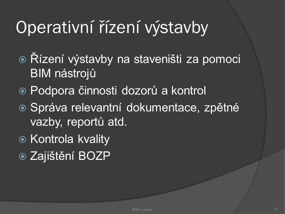 Operativní řízení výstavby