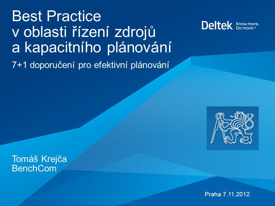 Best Practice v oblasti řízení zdrojů a kapacitního plánování