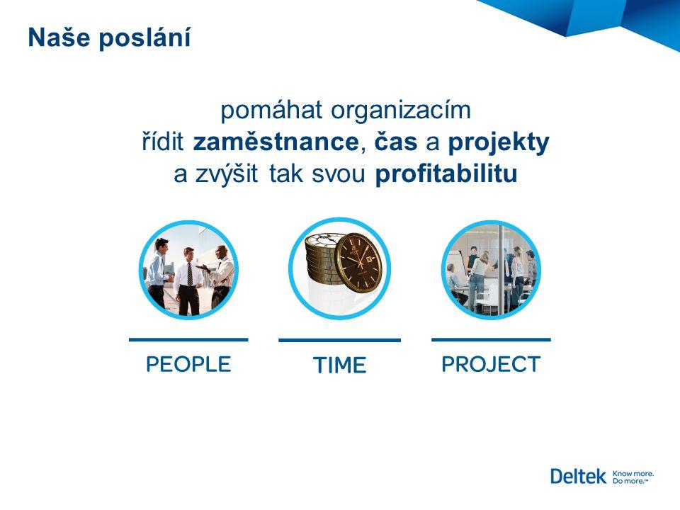 řídit zaměstnance, čas a projekty a zvýšit tak svou profitabilitu