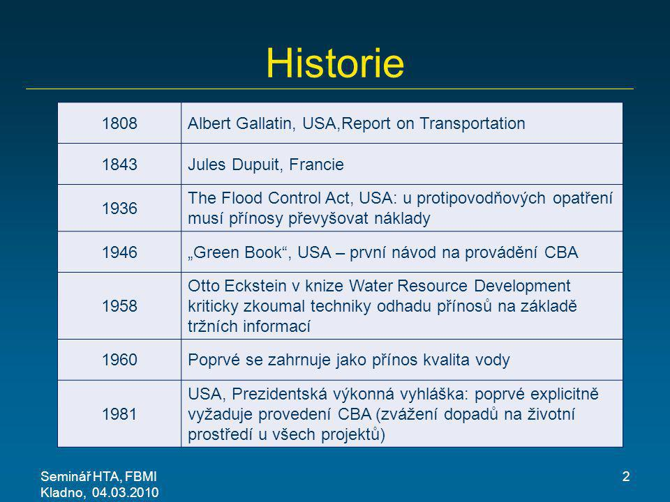 Historie 1808 Albert Gallatin, USA,Report on Transportation 1843