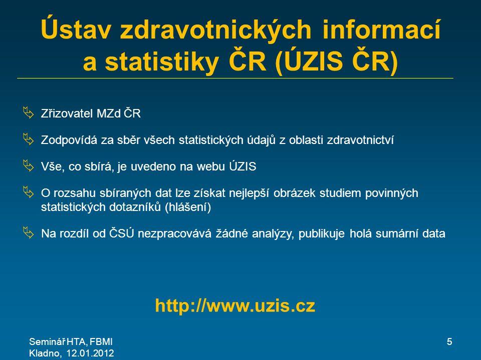 Ústav zdravotnických informací a statistiky ČR (ÚZIS ČR)