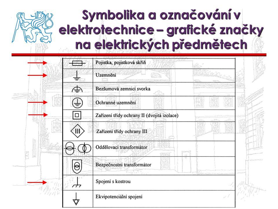 Symbolika a označování v elektrotechnice – grafické značky na elektrických předmětech