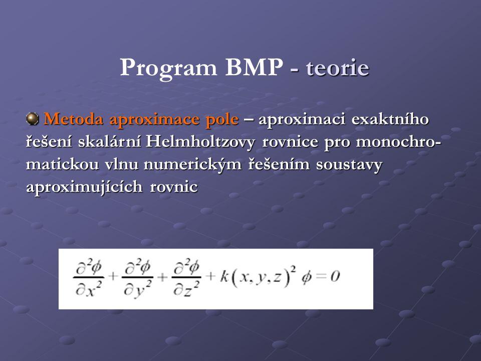 Program BMP - teorie