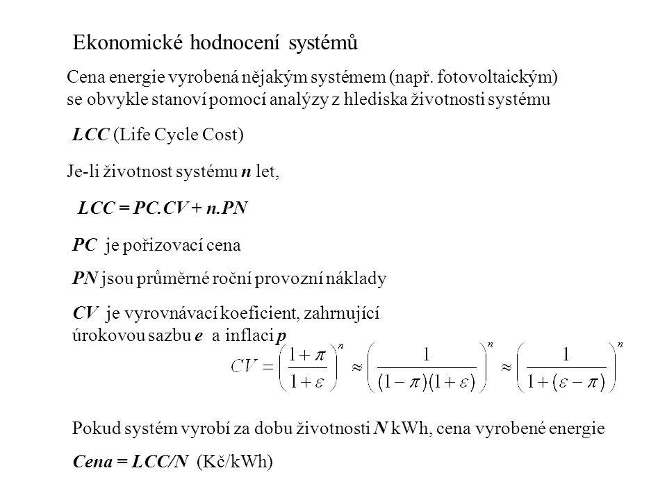 Ekonomické hodnocení systémů