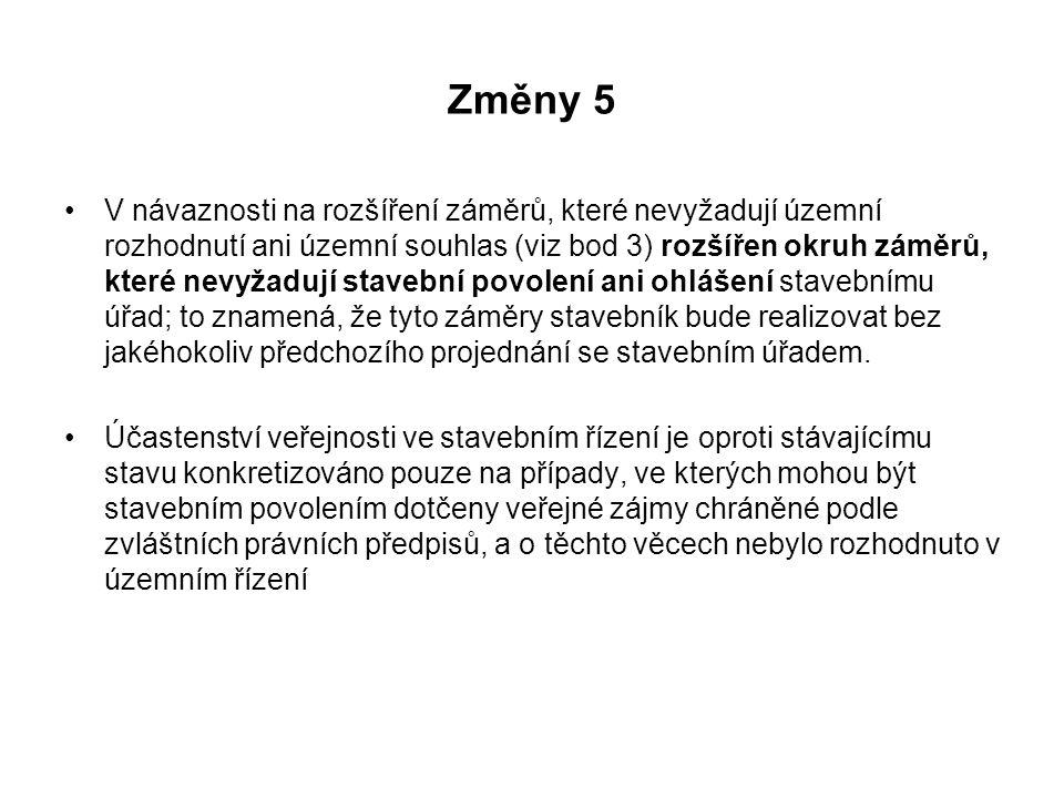 Změny 5