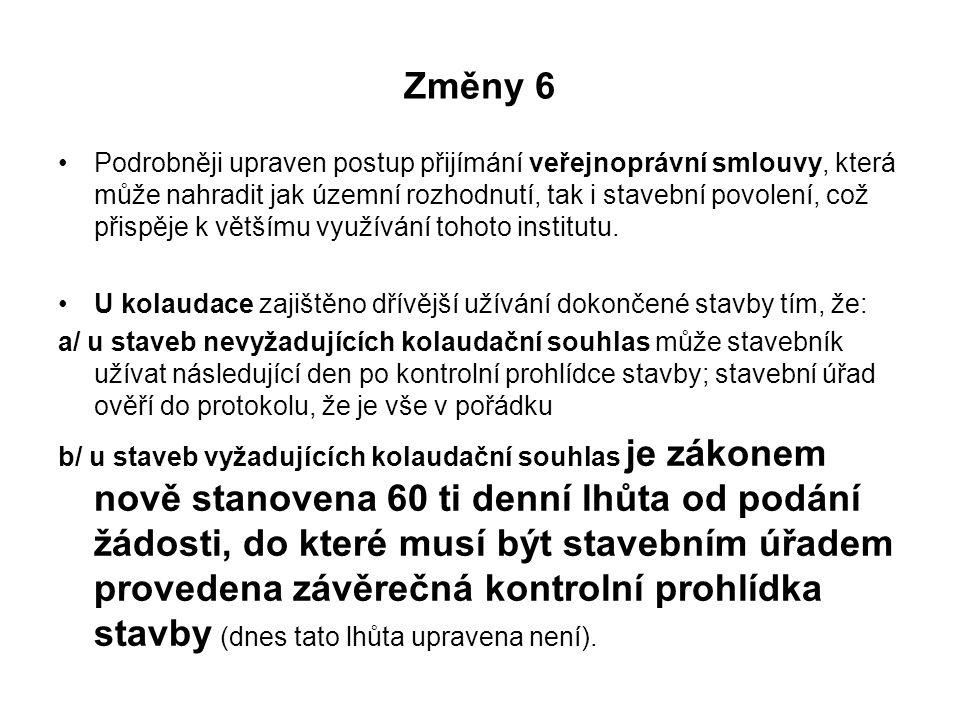 Změny 6