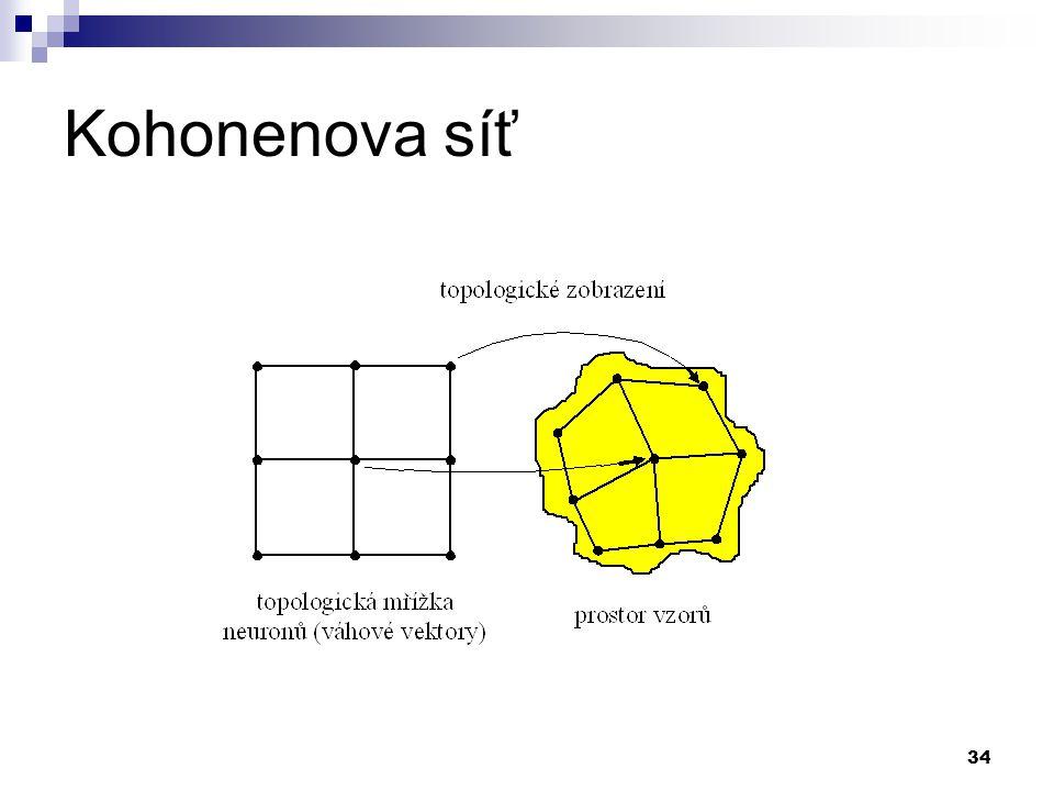 Kohonenova síť